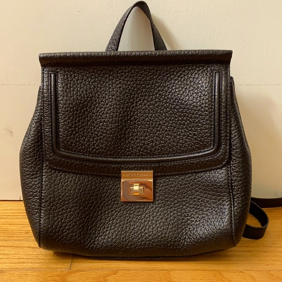 Kate Spade pebbled leather backpack purse